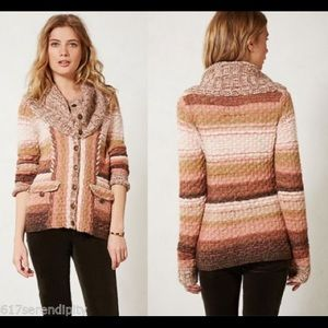 Anthropologie Ouray  Sweater Sleeping on Snow XS